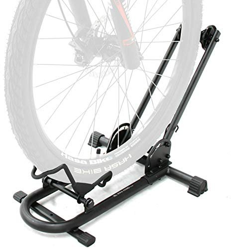 Bikehand Repacked Bicycle Floor Type Parking Rack Stand - for Mountain and Road Bike Indoor Outdoor Nook Garage Storage