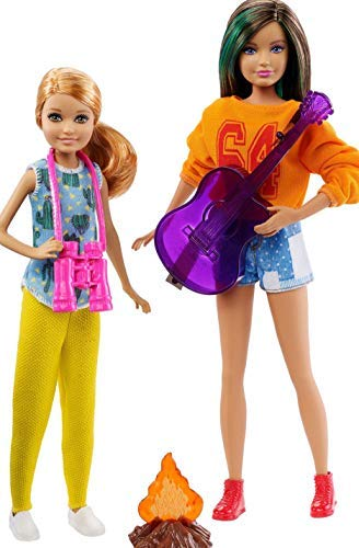 Barbie Sisters Camping Fun Doll Set with Skipper and Stacie