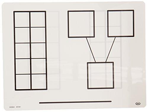 Didax Educational Resources Write & Wipe Ten-Frame (Ten Frame Games)