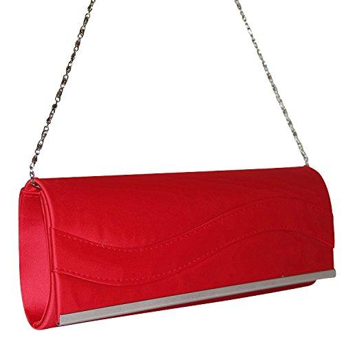 Chapeau-tendance – Abend Unterarmtasche rot rot rot – -Damen B00T2YUEOW Herrentaschen 4b4af3