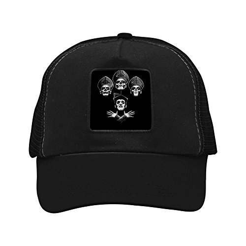 Bohemian Ghost Unisex-Adult Coors Casual Mesh Back Cap, Black/Wine Red/Ash, Adult -