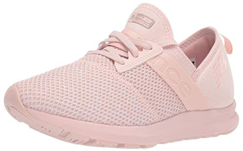 New Balance Women's Nergize V1 FuelCore Sneaker,OYSTER PINK,5.5 B US ()