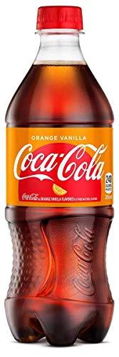 - Coca-Cola Orange Vanilla 20oz Bottles - Case of 24