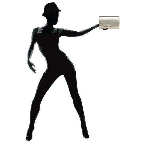 enveloppe femme Champagne bandoulière CASPAR avec pour chainette en forme TA414 Pochette élégante AwUAxIqY4Z