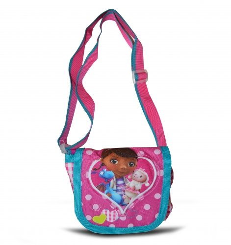 Bag McStuffins Disney Small Doc Doc Shoulder Pink McStuffins Disney 'Lapel' nzIORq