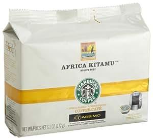 starbucks africa kitamu coffee bold 12 count t discs. Black Bedroom Furniture Sets. Home Design Ideas