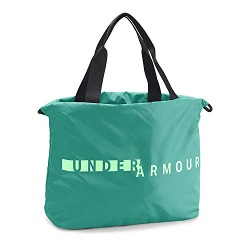 Under Armour Womens Favorite Tote Bag, Green Malachite (349)/Green Typhoon, One Size (Cinch Pack Under Armour)