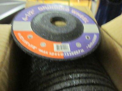 """~50~ 4-1/2"""" Grinding Wheels Disc Angle Grinders Metal Wheel 4-1/2"""" X 1/4"""" X 7/8"""