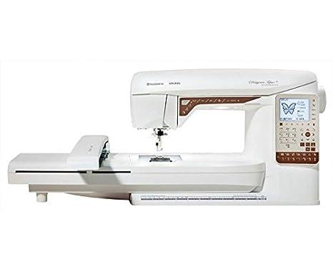 Husqvarna 7393033087555 - Máquina de Coser y Bordar Designer Topaz 25 + Unidad de Bordado: Amazon.es: Hogar