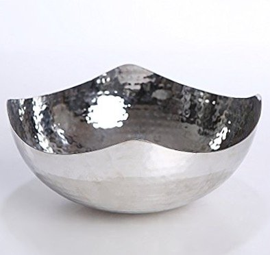 James Scott Hammered 10 -Inch Stainless Steel (Hammered Stainless Steel Bowl)