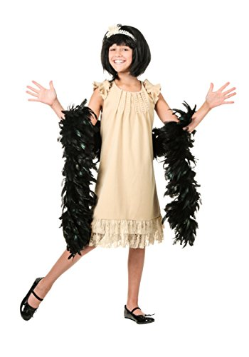 Fun Costumes Child Pearl and Lace Flapper Medium