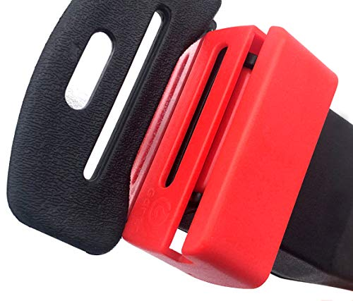 - BC Inter Buckle Guard Compatible With Seat belt - Preventing Children Opening Buckle in Traveling