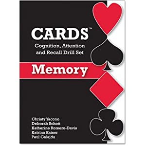 Cards: Cognition, Attention and Recall Drill Set: Memory