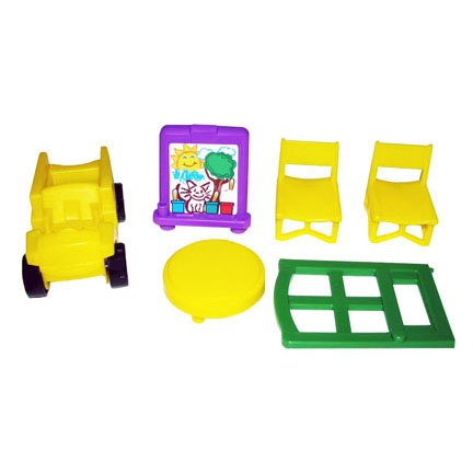 Fisher Price Little People Learn About Town Accessories