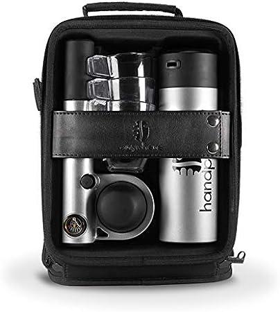 Handpresso Pump Set Blanc 48301 Coffret machine expresso portable et manuelle /à dosette ESE ou caf/é moulu
