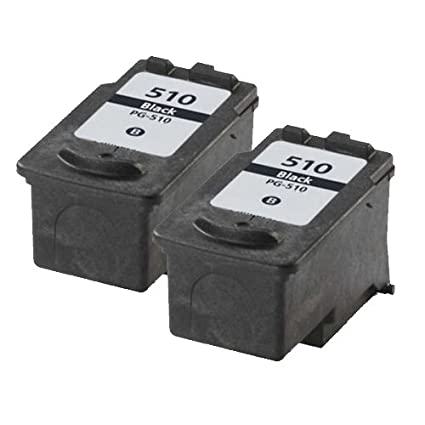 2 x Black tinta reemplazo For CANON Pixma mp250 impresora ...