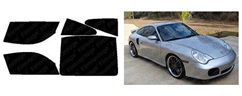 Amazon.com: Porsche 911 Turbo Coupe 06 2006 Precut Window Tint - Super High Heat Rejection Black Box Alpine - F70R35: Automotive