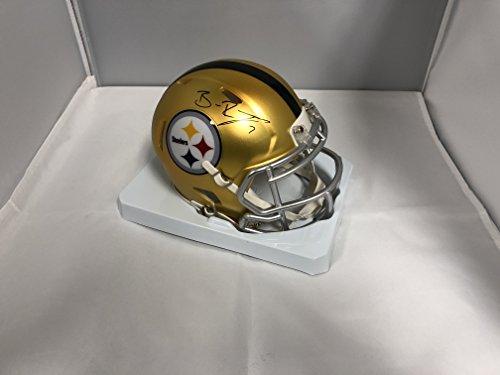 Ben Roethlisberger Autographed Signed Pittsburgh Steelers RARE BLAZE Speed Mini HelmetCOA & Hologram
