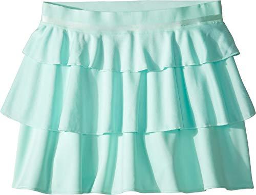 (adidas Kids Girl's Frill Skirt (Little Kids/Big Kids) Clear Mint Small)