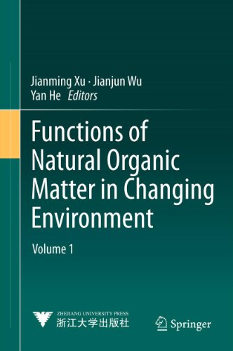 Functions of Natural Organic Matter in Changing Environment Pdf