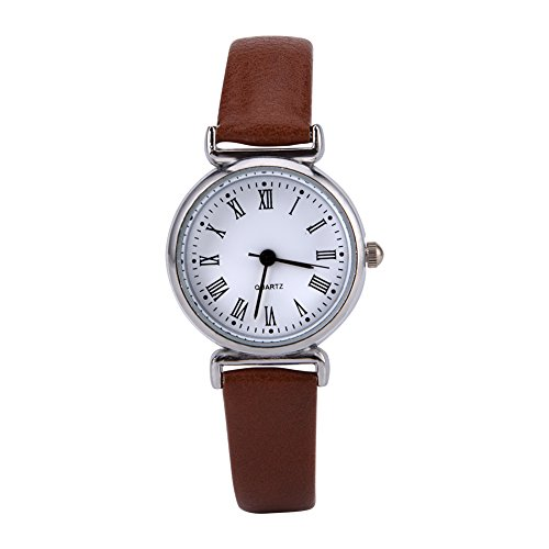 VGEBY Women's Dress Watch, Luxury Fashion Simple Watch with Synthetic Leather Band