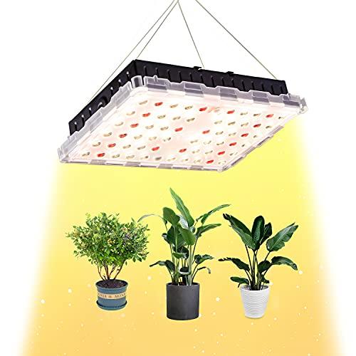 Grow Light, Lampada per Piante Lampada Led Piante Full Spectrum, equivalente 300W HPS per Piante Verdi da Interno Semina Veg e Fiore ZSHONORLIGH