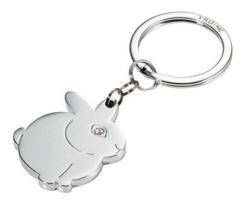 Troika Best Friend Bunny Key Chain (KR15131CH) by Troika