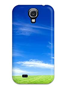 Marco DeBarros Taylor's Shop High Impact Dirt/shock Proof Case Cover For Galaxy S4 (blue Sky And Green Grass) 9918183K31919779