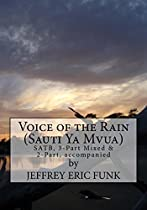 Voice Of The Rain: Satb, 3-part Mixed & 2-part, Accompanied