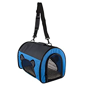 Pet Carrier Travel Bag Small Dogs Cats Airline Approved Under Seat Animal Crate