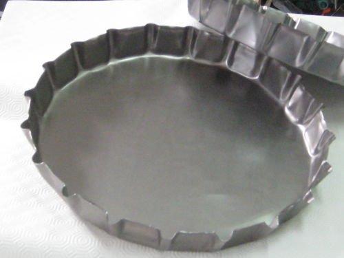 2 opinioni per Tegame tegami in lamiera per focaccia pugliese barese altamura Ø 40 x 4.5 cm
