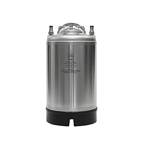 New AEB 3 Gallon Ball Lock Keg - Single Handle