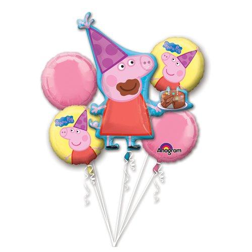 LA Balloons 3130101 Foil Balloon, (Peppa Pig Ballons)