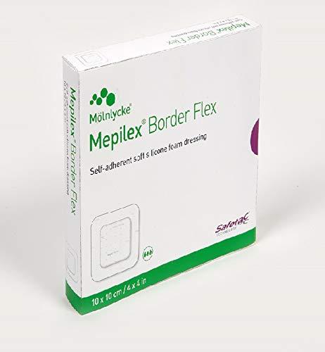 Mepilex Border Flex 4''x4'' 5ct