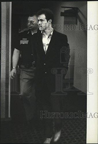 1984 Press Photo Criminal Anthony D Cowan - charged for Murder - spa44862