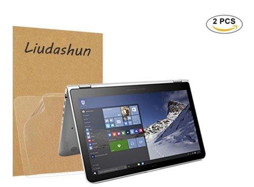 HP ENVY x360 15 w series Screen Protector,HD Clear LCD Anti-Scratch Anti-Fingerprints Guard Film For 15.6'' HP ENVY x360 15 w series(15t-w100 CTO 15t-w200 CTO)Laptop(2-pack) by Liudashun (Image #7)