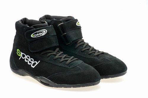 Speed Kartschuhe - Karting Boots - Kart - Autocross - Autosport Schuhe (41, Schwarz)