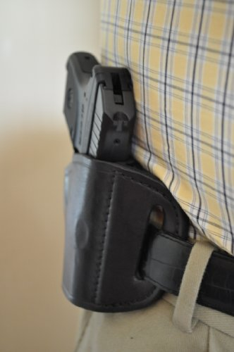 - Black Leather Belt Holster for Ruger LCP .380