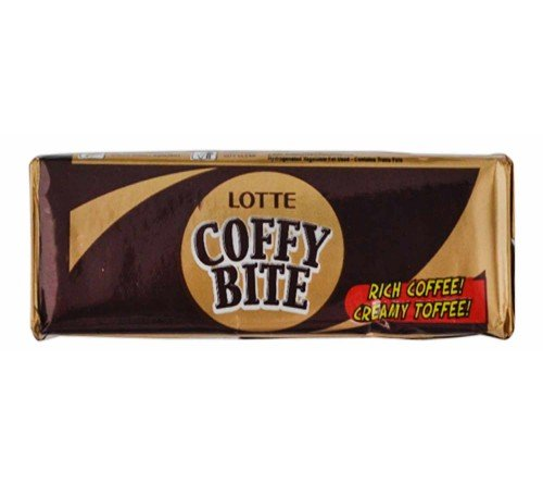 Lotte Coffy Bite Rich Coffee Creamy Toffee 25GM (Pack of 30)