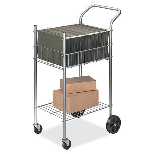 Fellowes Mail Cart,Holds 75 Ltr/Lgl Fldrs,19-1/2''x26''x40-1/4'',CE (4092001) by Fellowes