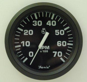 Faria 32805 Euro 7000 rpm Tachometer