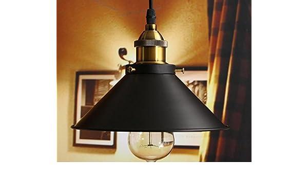 d4b0317a859 Amazon.com   Loft Vintage Ceiling Lamp Round Retro Ceiling Light Industrial  Design Edison Bulb Antique Lampshade Ambilight Lighting Fixture    Everything ...