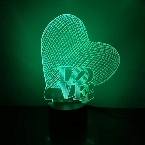 Amazon.com: Escultura luminosa Loveboat con luz LED de 7 ...