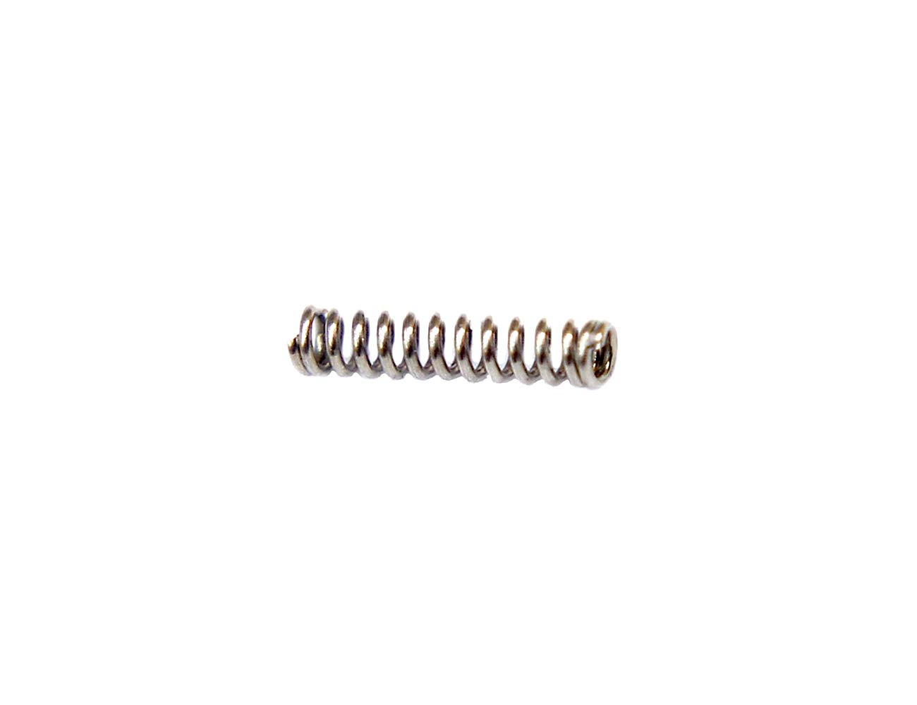 XJS 1.4x8.0x52mm Metal Dual Hook Small Tension Spring 10 pcs