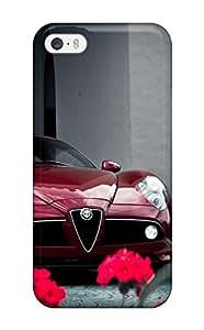 Iphone 5/5s Case Bumper Tpu Skin Cover For Alfa Romeo 4c 40 Accessories