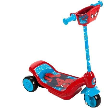 Huffy Marvel Ultimate Spider-Man 6V Dual Power Scooter with Charger
