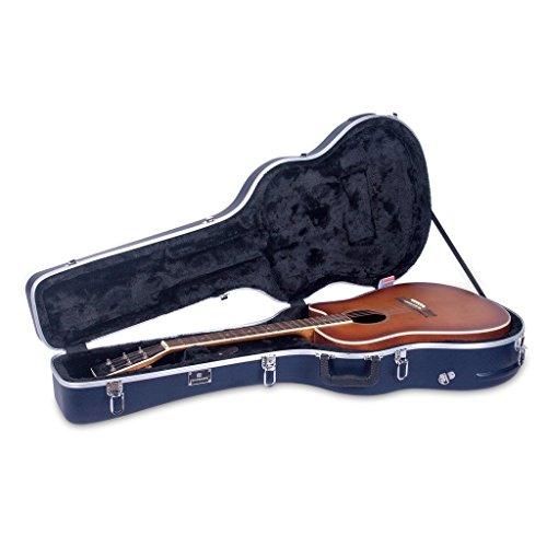 Crossrock Cra860dbk Acoustic Dreadnought Guitar Case Abs