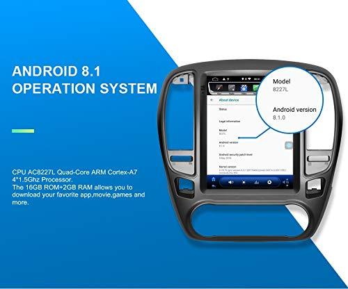 KasAndroid AUTORADIO Android 8.1,para Opel Insignia//Buick Regal Estilo Tesla Pantalla Vertical 10 2GB RAM 16 GB ROM//GPS Coche Car//WiFi navi navegador//A/ño: Desde 2014 Octa Core