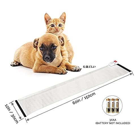 PetsN'all Electronic Pet Training Mat For Dog (60X12inch)- Extension (Scat Cat Repellent)