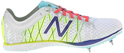 New Balance Women's WLD5000 Long Distance Spike Shoe Silver/Purple